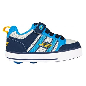 Heelys X2 Bolt Plus Light Up - Navy/New Blue/Lunar Grey