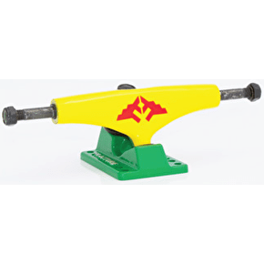 Fracture Wings Skateboard Trucks - Rasta 5