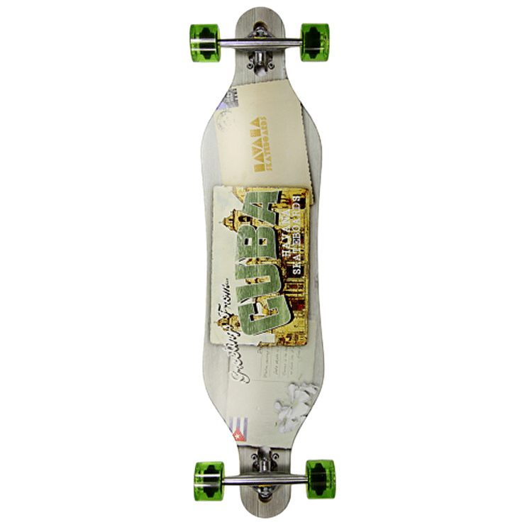 Havana Gemini Drop-Through Postcard Complete Longboard 40""