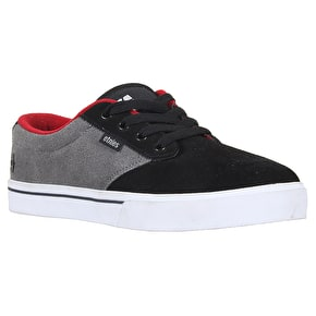 Etnies Jameson 2 Shoes - Black/Grey/Red