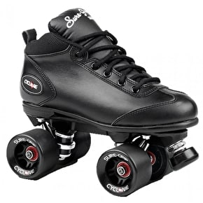 Sure Grip Cyclone Quad Rollerskates - Black