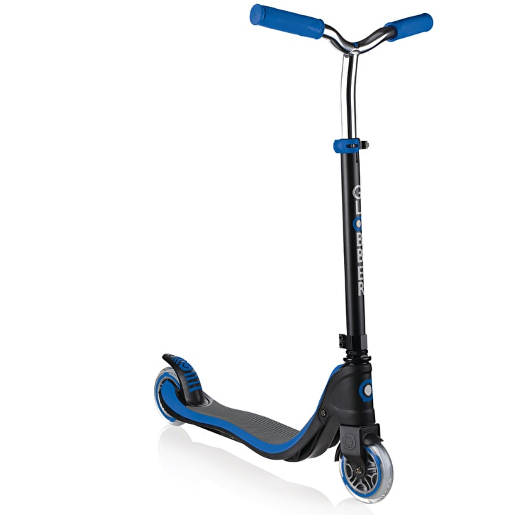 Globber My Too Flow 125 Complete Scooter - Black/Navy Blue