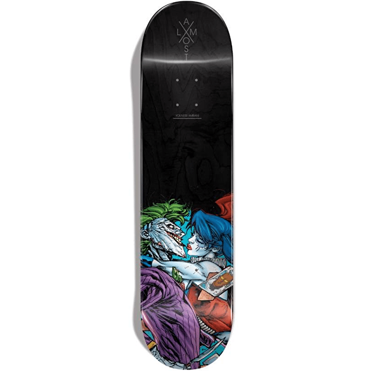 Almost x DC Suicide Squad R7 Skateboard Deck - Youness 8.25""