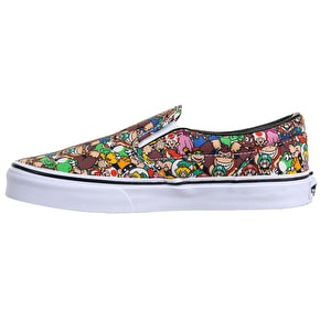 Vans Classic Slip-On Kids Shoes - (Nintendo) Super Mario Bros/Multi