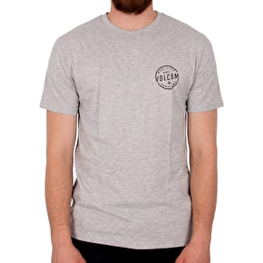 Volcom On Lock T-Shirt - Heather Grey