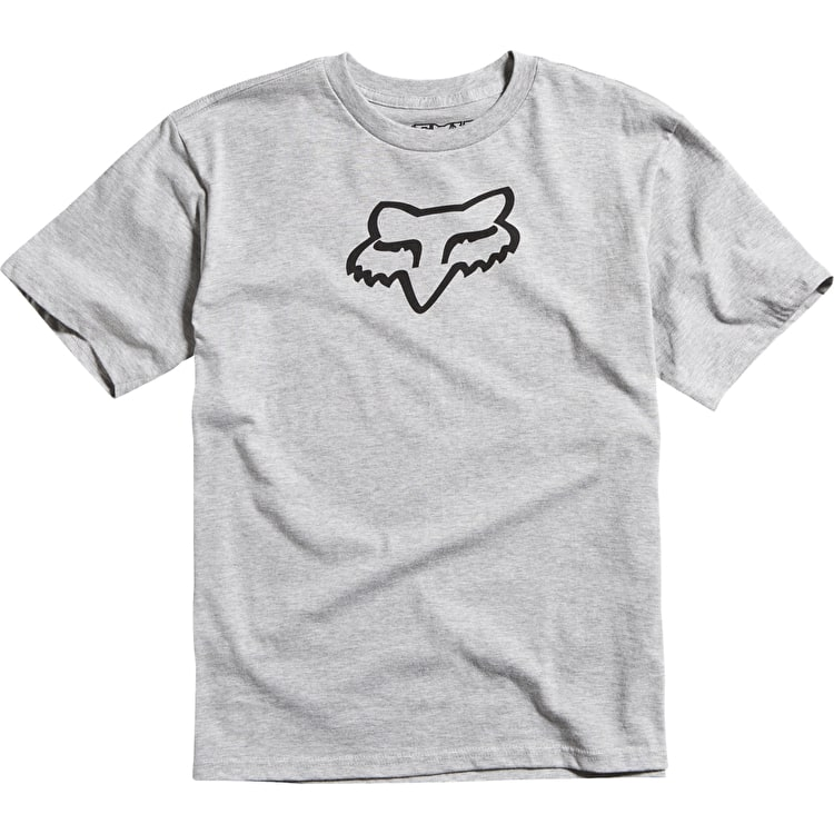 Fox Legacy Kids T-Shirt - Heather Grey