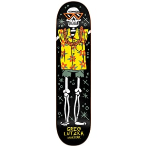 Darkstar Pelletier Vices Skateboard Deck - Lutzka 8.0