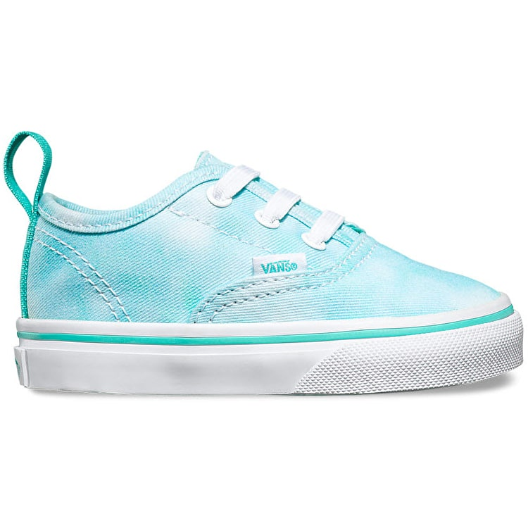 Vans Authentic V Toddler Shoes - (Tie Dye) Turquoise