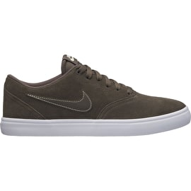 Nike SB Check Solarsoft Skate Shoes - Ridgerock/White-Fossil