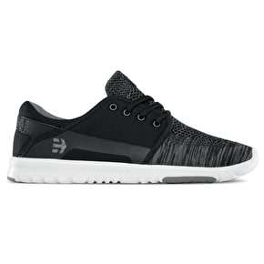 Etnies Scout YB Skate Shoes - Black/Grey