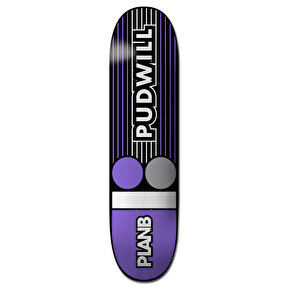 Plan B Lines Pro Spec Skateboard Deck - Pudwill 8.25