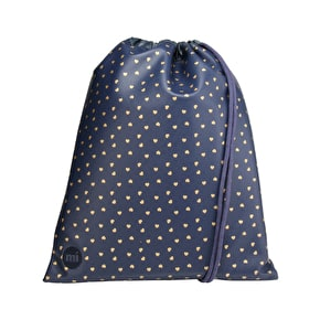 Mi-Pac Kit Bag - Hearts Navy/Gold