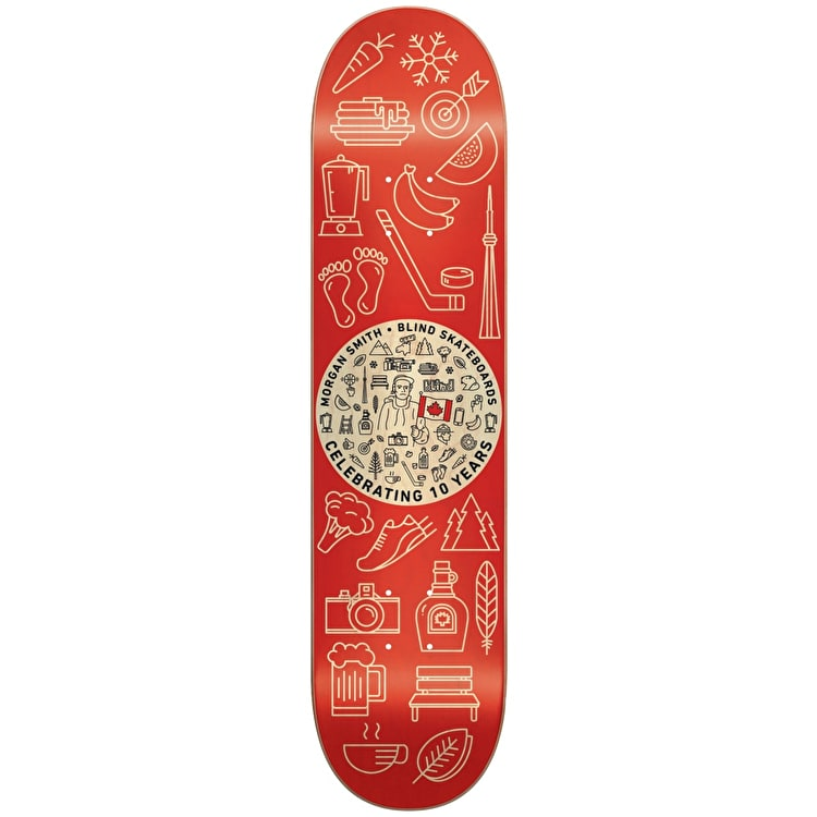 Blind Skateboard Deck - Icons R7 Smith 8.25""