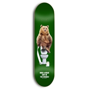 Grizzly x Skate Mental Upper Decker Skateboard Deck - 8.125