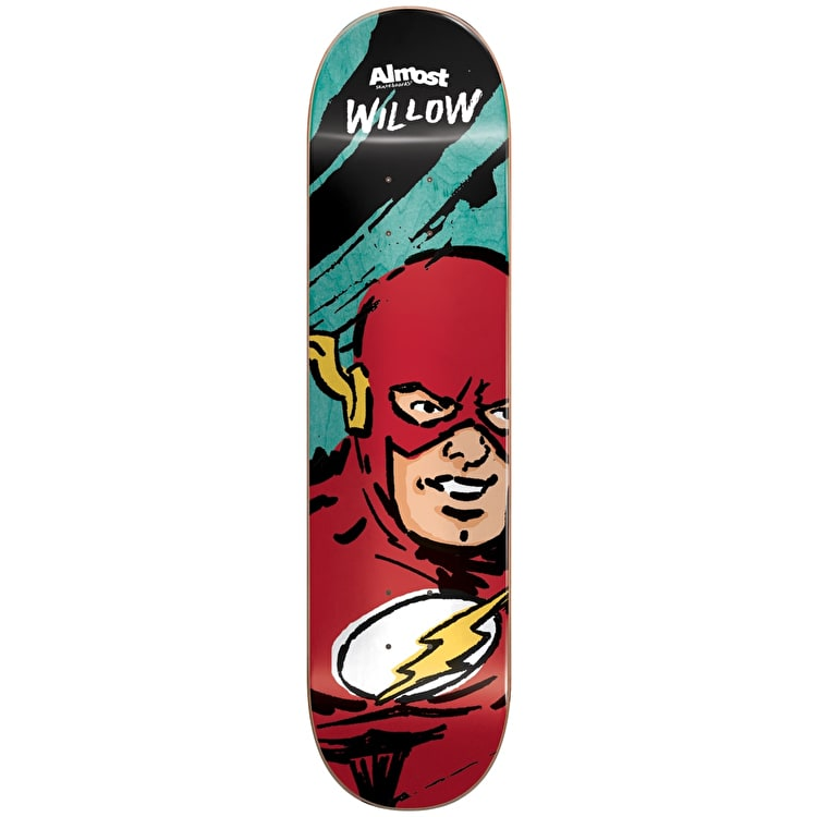 Almost Sketchy Flash R7 Skateboard Deck - Willow 7.75""