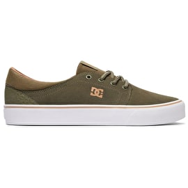 DC Trase SD Skate Shoes - Olive