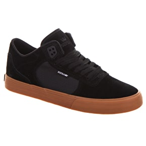Supra Ellington Vulc Shoes - Black/Gum