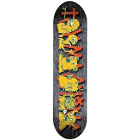 Toy Machine The Crew Team Skateboard Deck - 8.5