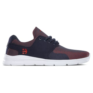 Etnies Scout XT Skate Shoes - Navy/Red