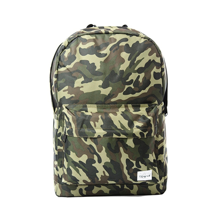 Spiral OG Backpack - Camo Jungle Patch