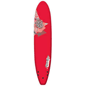Maui and Sons Foam Surfboard - 8' 0