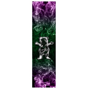 Grizzly Smoke Bear Skateboard Grip Tape