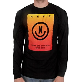 Neff Viktor Long Sleeve T shirt - Black