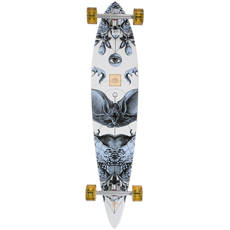 """Arbor 2017 Bamboo Timeless Pintail Complete Longboard - 42"""""""