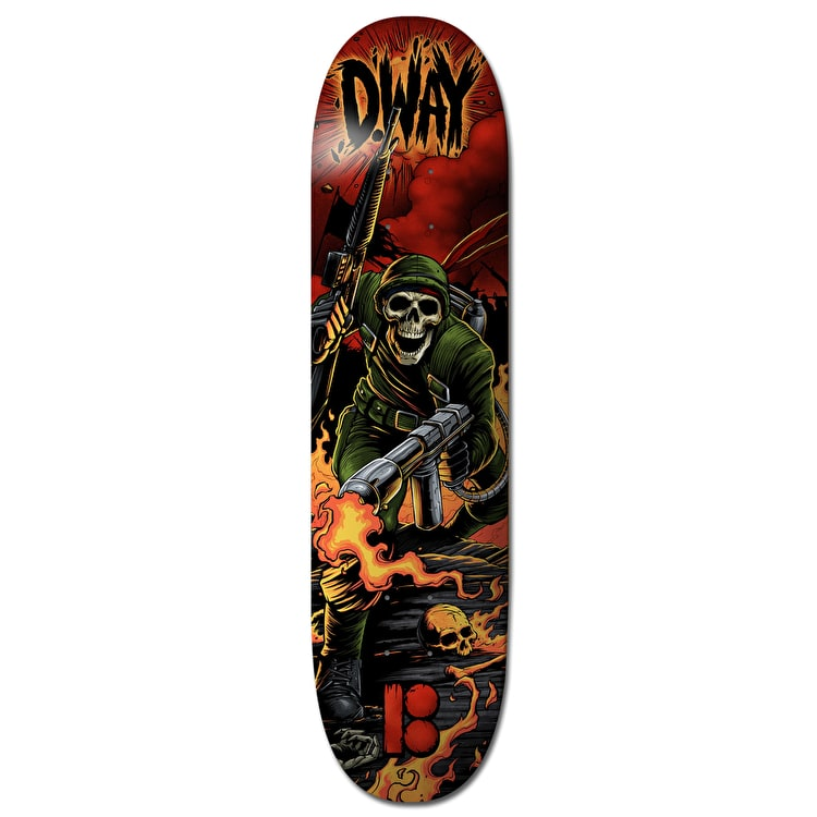 Plan B Way NP3 BLK ICE Skateboard Deck - 8.625""