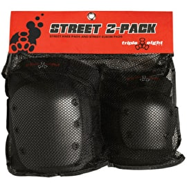 Triple 8 Street 2-Pack Combo Pad Set
