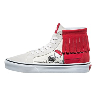 Vans x Peanuts SK8-Hi MOC Shoes - Dog House/Bone