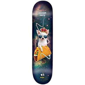 Enjoi Skateboard Deck - Snack Surfers V2 Impact Light Berry 8