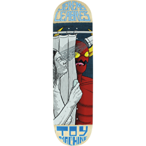 Toy Machine Peeping Toy Leabres Pro Skateboard Deck - 8.25