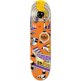 Element Elna Positive Billboards Music Skateboard Deck - Evan 8.1