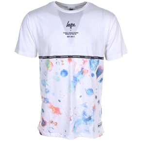 Hype White Space Print T-Shirt