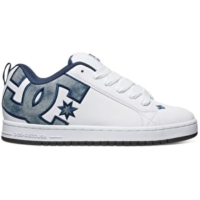DC Court Graffik SE Shoes - Denim