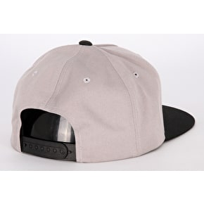 Santa Cruz Outline Dot Cap - Dark Heather/Black