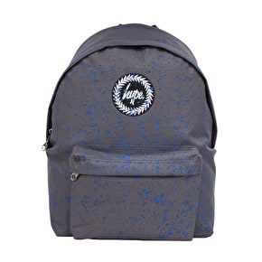Hype Speckle Backpack- Grey/Blue