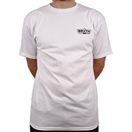 Brixton Cruss Standard T Shirt - White