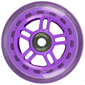 JD Bug Original Street 100mm Scooter Wheels - Purple w/Bearings