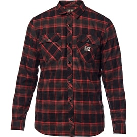 Fox Traildust Flannel Shirt - Cardinal