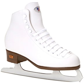 Riedell White Ribbon 112 GR4 Ice Skates