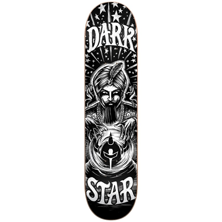 Darkstar Skateboard Deck - Fortune Black/White 8.25""