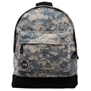 Mi-Pac Backpack - Digi Camo Grey/Black