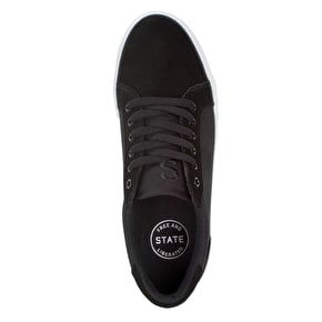 State Hudson Skate Shoes - Black/White/Red