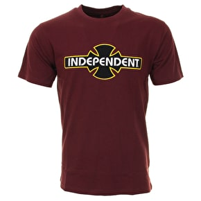 Independent OGBC T-Shirt - Oxblood