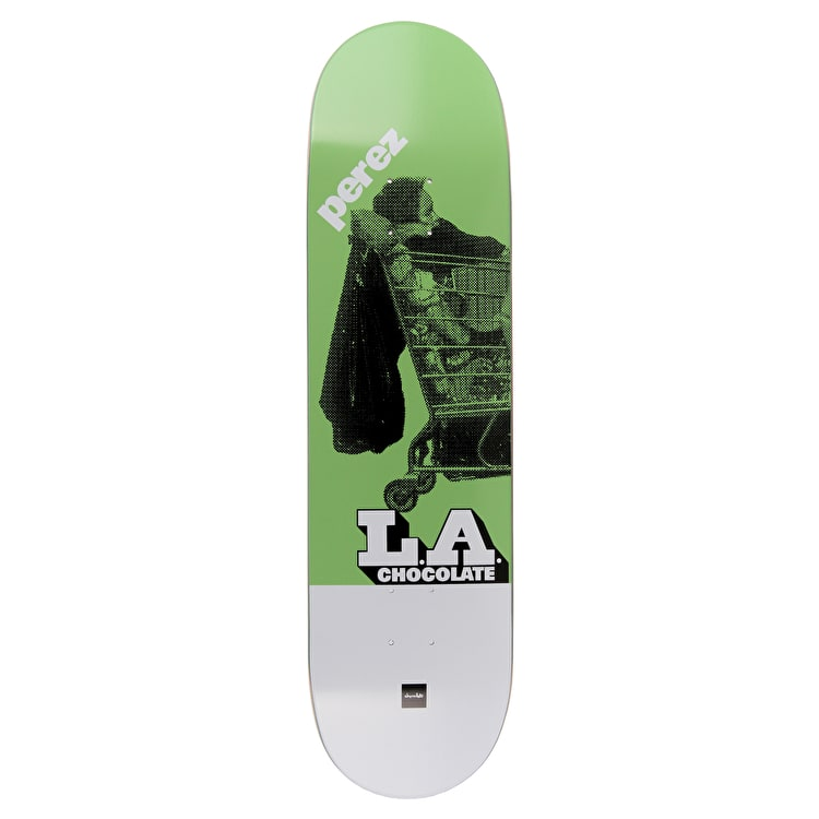 Chocolate LA Express Skateboard Deck - Perez 8.25""