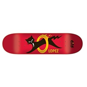 Flip Skateboard Deck - Black Cat Lopez 8.25