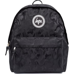 Hype Camo Backpack - Black