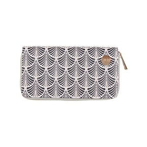 Mi-Pac Art Deco Zip Purse - Blush